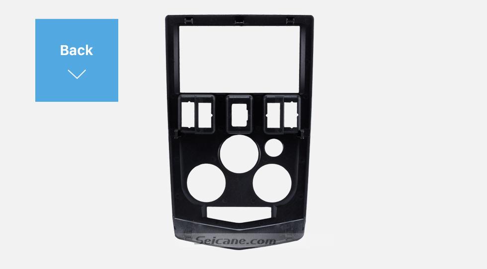 Back Popular 2Din car radio Fascia for 2004 2005 2006 2007 RENAULT LOGAN Trim Dash CD Installation Kit Stereo Interface Frame Panel