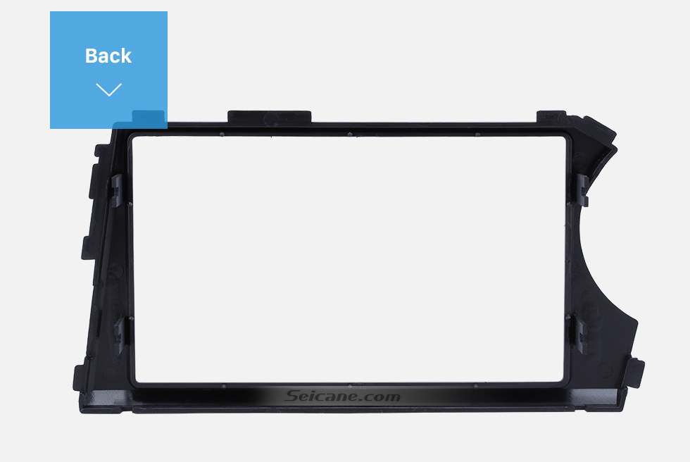 Seicane Special LHD Double Din Car Radio Fascia for 2006 2007 2008 2009 SSANG YONG ACTYON CD Trim Panel Auto Stereo Installation DVD Frame