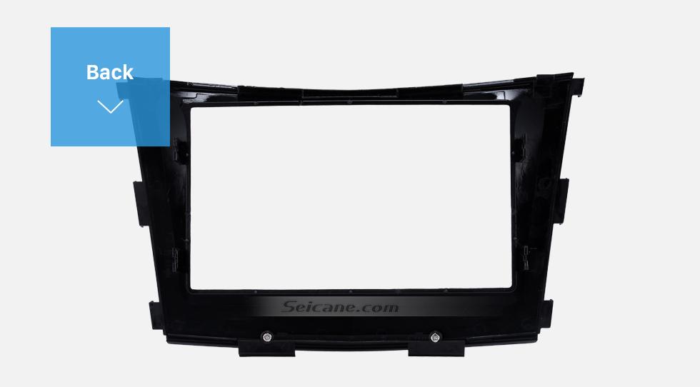 Back Crafted 2 Din Car Radio Fascia for 2015 SSANG YONG TIVOLI TIVOLAN Audio Fitting Frame Adaptor CD Trim Panel Fascia Plate