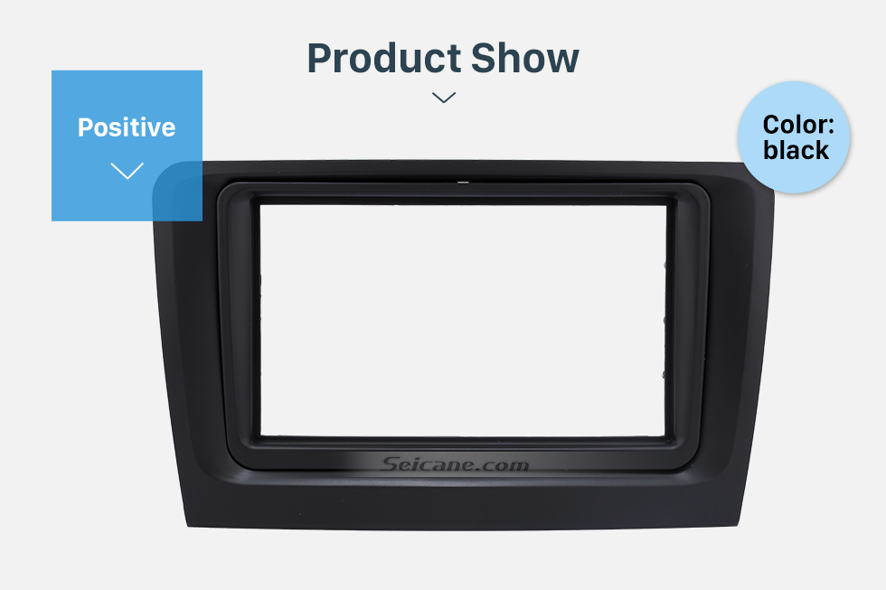 Seicane Stunning Double Din Car Radio Fascia for 2011 Skoda Superb Stereo Plate Frame Panel Dash Mount Auto Trim