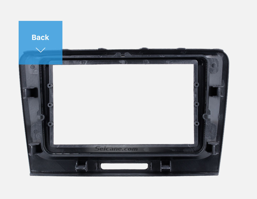 Seicane Nice Double Din Car Radio Fascia for 2009 2010 2011 2012-2014 Skoda Superb Dash CD DVD Frame Surround Panel Fitting Adaptor