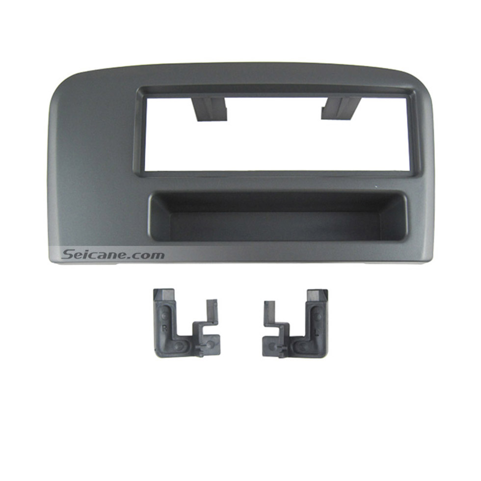 Seicane Fabulous 1Din Car Radio Fascia for Volvo S80 Dashboard CD Fitting Adaptor Stereo Frame Panel