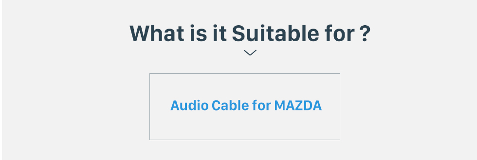 What is it Suitable for? Audio Cable Sound Wiring Harness Adapter for MAZDA Family(OLD)/Mazda 6/Mazda 3/MAZDA PREMACY(OLD)/Mazda 323