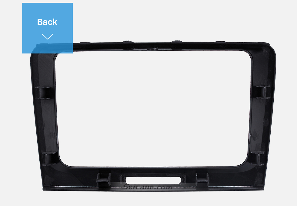 Seicane OEM Style Car Stereo Radio Fascia Panel for 2009 2010 2011 2012-2014 Skoda Superb Installation Mount 2 Din Trim kit Frame