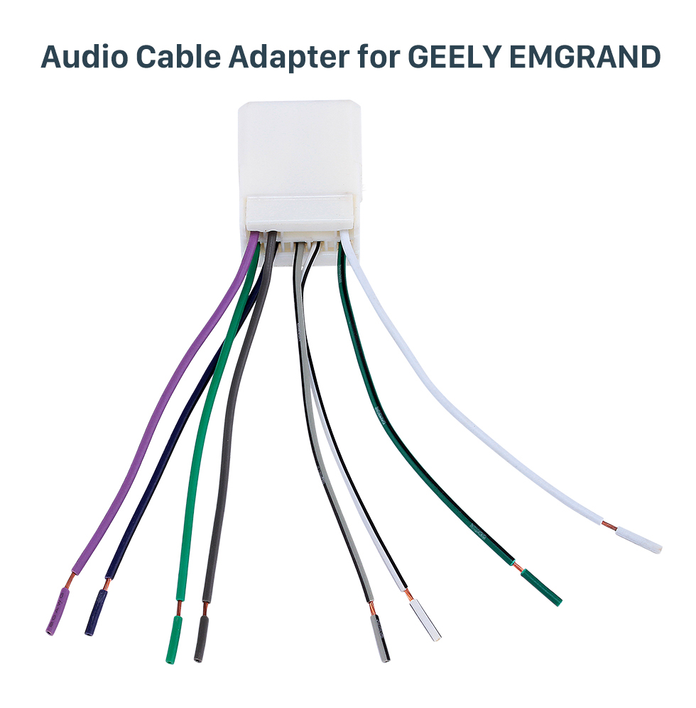 Audio Cable Adapter for GEELY EMGRAND Top Wiring Harness Adapter Audio Cable for GEELY EMGRAND