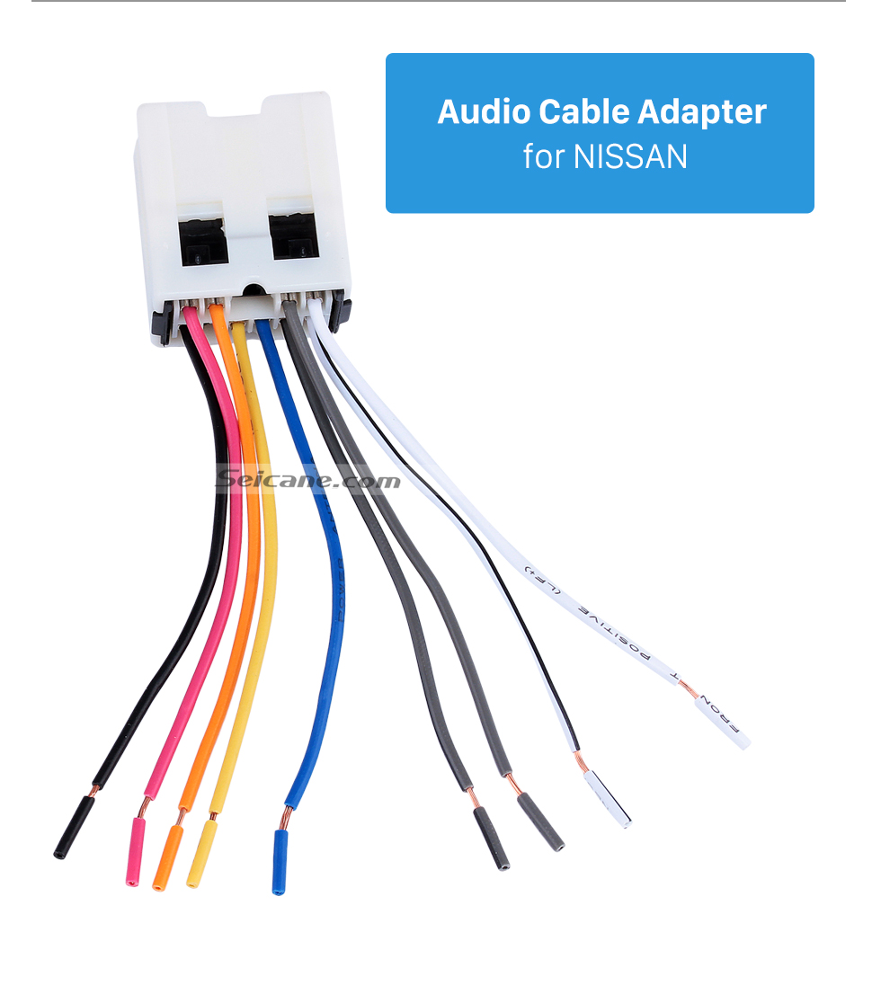 Audio Cable Adapter for NISSAN Audio Cable Wiring Harness Adapter for NISSAN Bluebird/Paladin/Sunny/Cefiro/FUGA/INFINITI