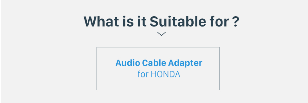 What is it Suitable for? High-quality Wiring Harness Adapter Audio Plug Cable for HONDA Accord 2.4L/Odyssey/FIT/CITY/New Premacy/Ne/w Family/Buick Excelle/Old Epica/Buick GL8/Suzuki