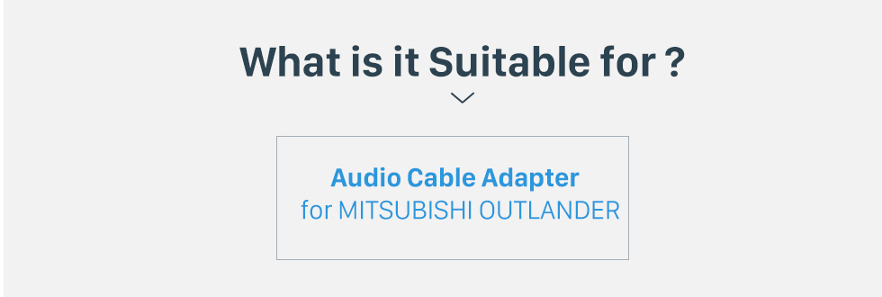 What is it Suitable for? Car Stereo Wiring Harness Plug Adapter Audio Cable for MITSUBISHI OUTLANDER