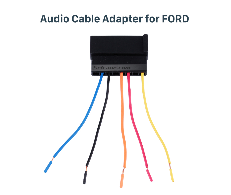 Audio Cable Adapter for FORD Hot sale Audio Sound Cable Wiring Harness Adapter for FORD Mondeo