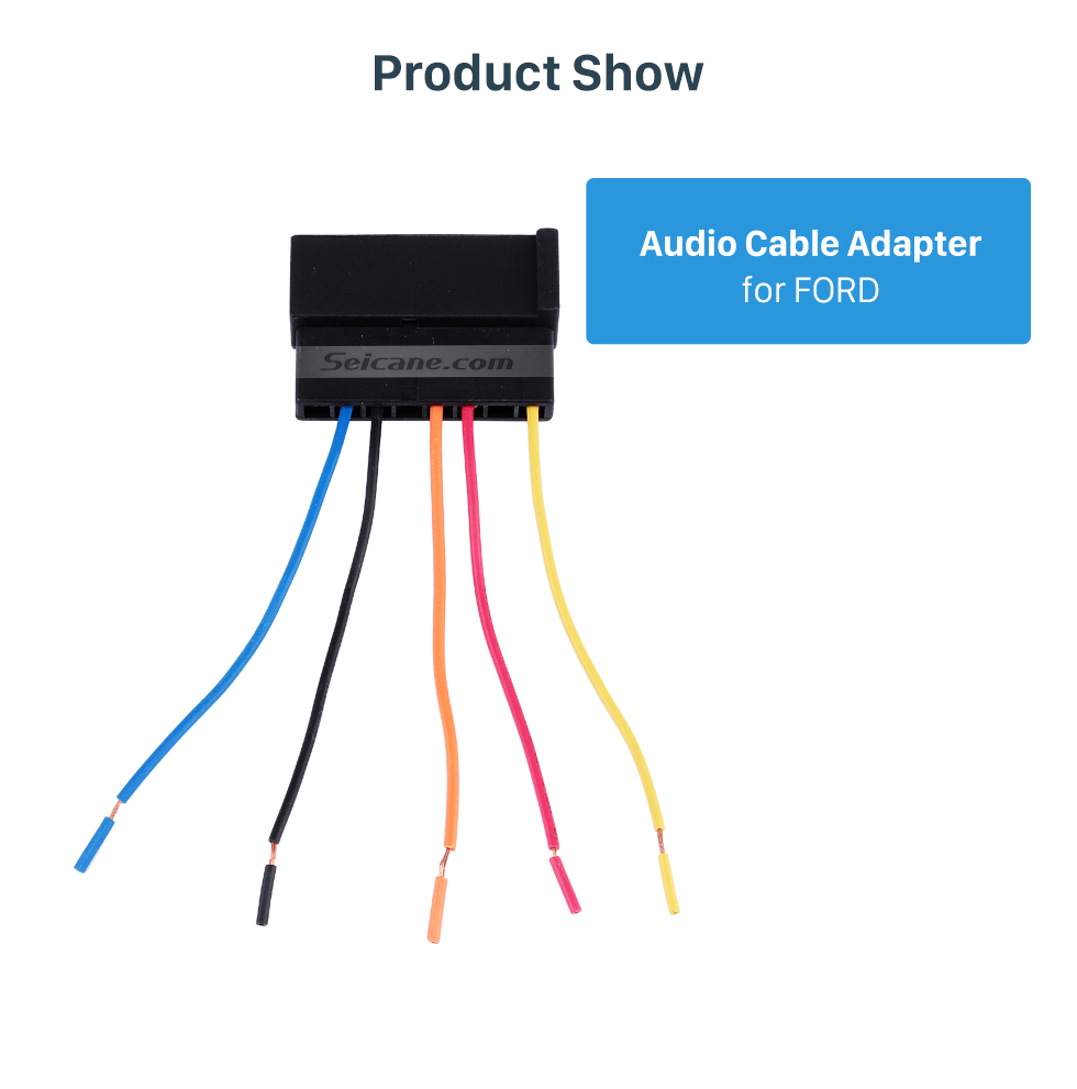 Product Show Hot sale Audio Sound Cable Wiring Harness Adapter for FORD Mondeo