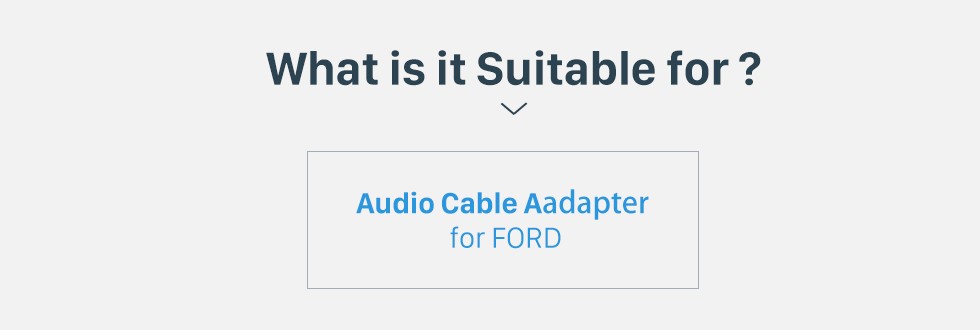 What is it Suitable for? Hot sale Audio Sound Cable Wiring Harness Adapter for FORD Mondeo