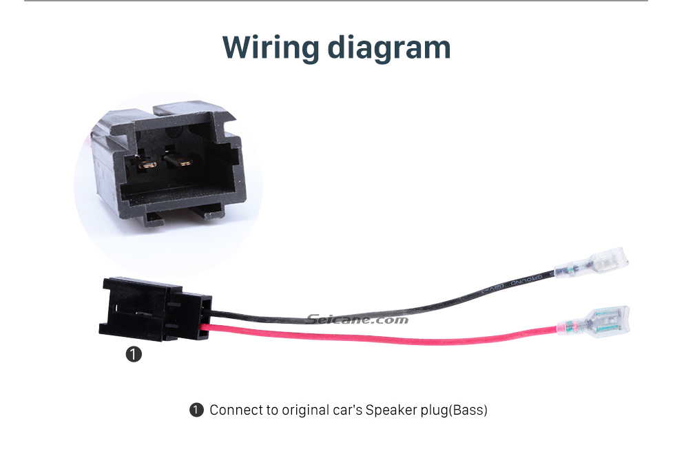 wiring diagram hot wiring harness adapter speaker sound cable for  peugeot (bass)