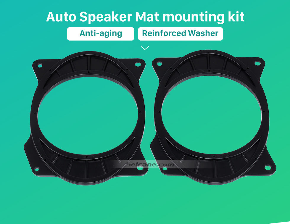 Auto Speaker Mat mounting kit Car Rear Speaker Mat Plates Bracket for 2006-2011 Toyota Camry/Corolla (change 6×9 to 6.5)