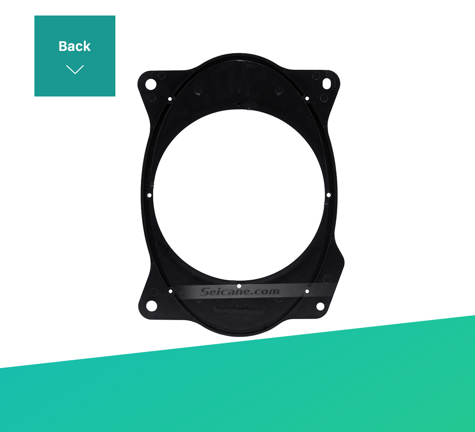 Back Car Rear Speaker Mat Plates Bracket for 2006-2011 Toyota Camry/Corolla (change 6×9 to 6.5)