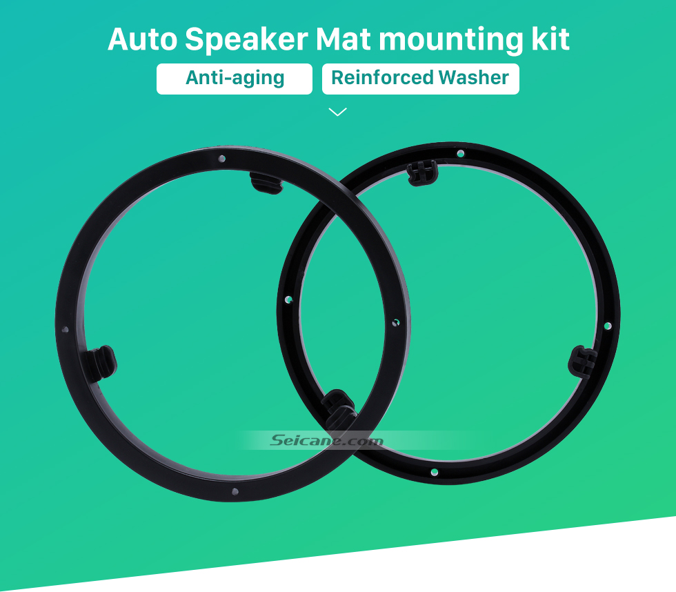 Auto Speaker Mat mounting kit Universal Car Plates Bracket Ring Speaker Mat for Mitsubishi