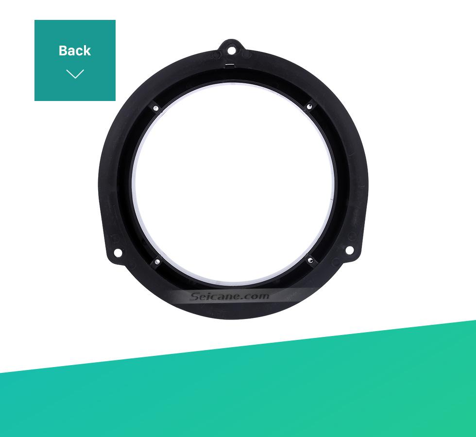 Seicane Top Car Rear Ring Speaker Mat for AUDI Q5