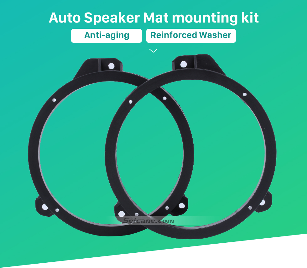 Auto Speaker Mat mounting kit Front Speaker Mat Modification Bracket for Subaru Forester