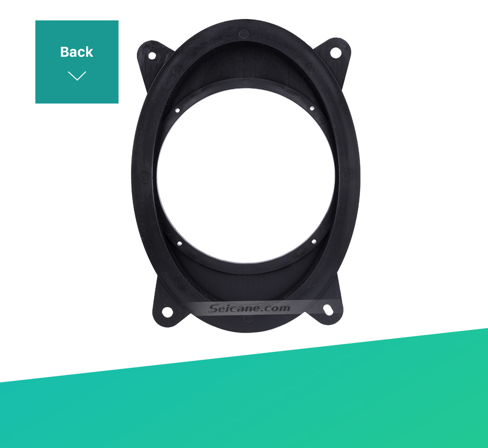 Seicane Solid Front Ring Speaker Mat Bracket for 2013 Subaru Forester