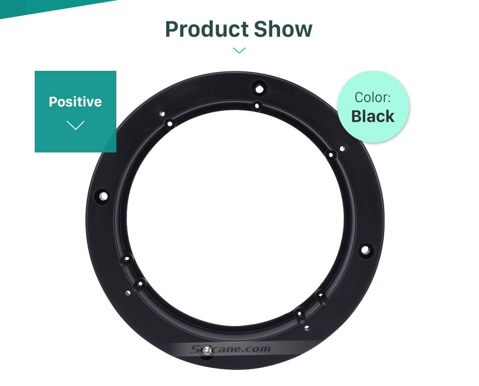 "Seicane 6~6.5"" Ring Beveled Speaker Mat Bracket for General Use"