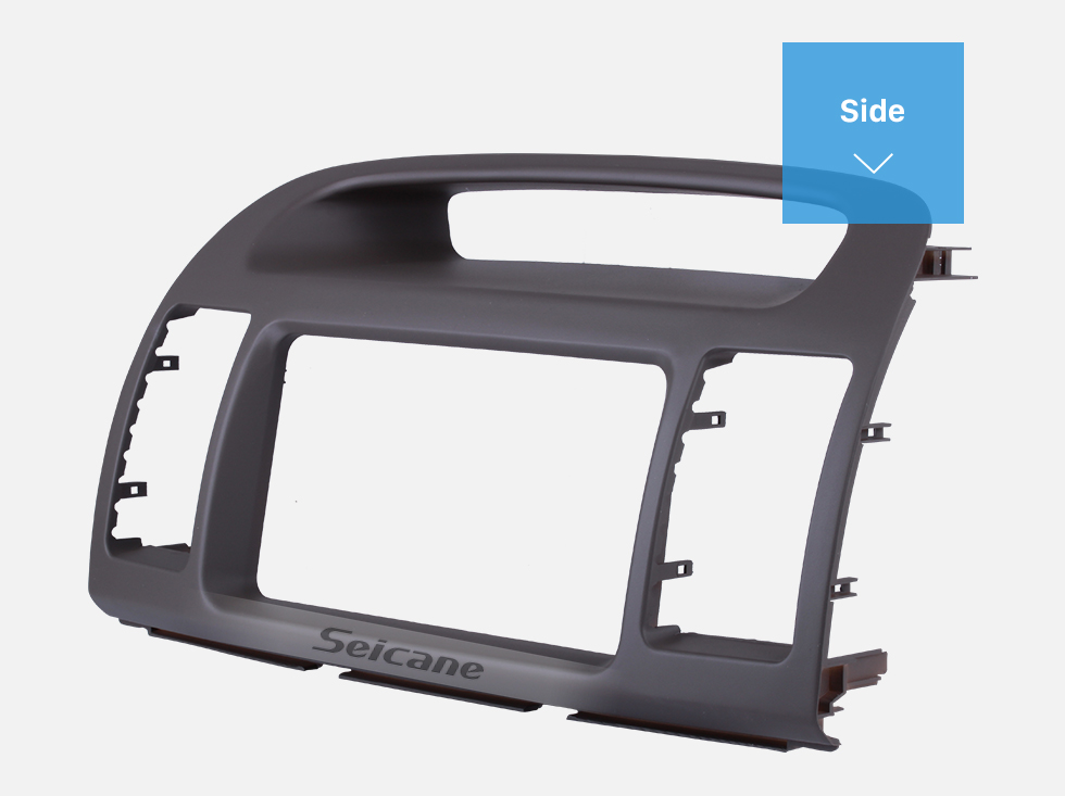 Seicane In Dash Car Stereo Fascia Panel Radio Install Frame Dash Bezel Trim kit Mount Kit For 2000-2003 TOYOTA CAMRY 2 Double DIN OEM Style