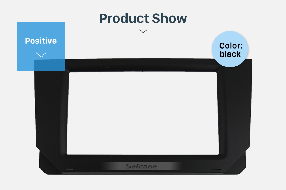 Seicane Cheap 2 DIN  Car Radio Fascia for 2018 SEAT IBIZA/ ARONA Stereo Dash Cover CD Trim installation Frame Panel Kit