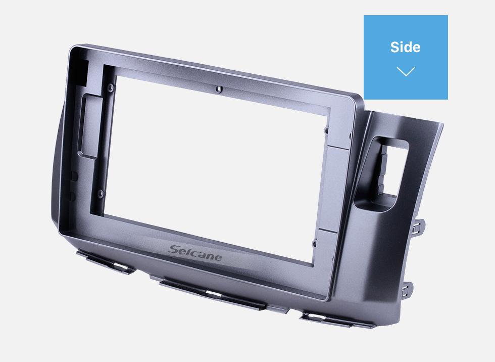 Seicane Double Din 10.1 inch 2010 ALZA Fascia Frame Dash Mount Kit Trim Panel No gap