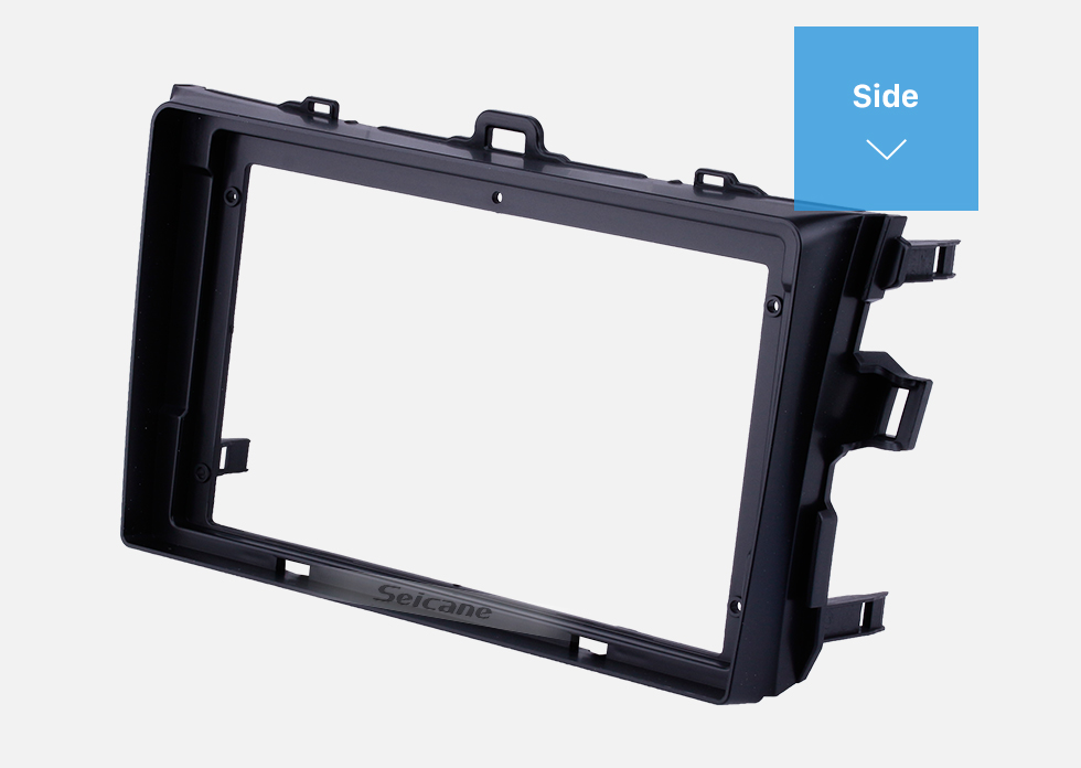 Seicane Fascia Panel Trim Frame Installation Kit For 9 inch 2008-2010 Toyota Corolla OEM Style