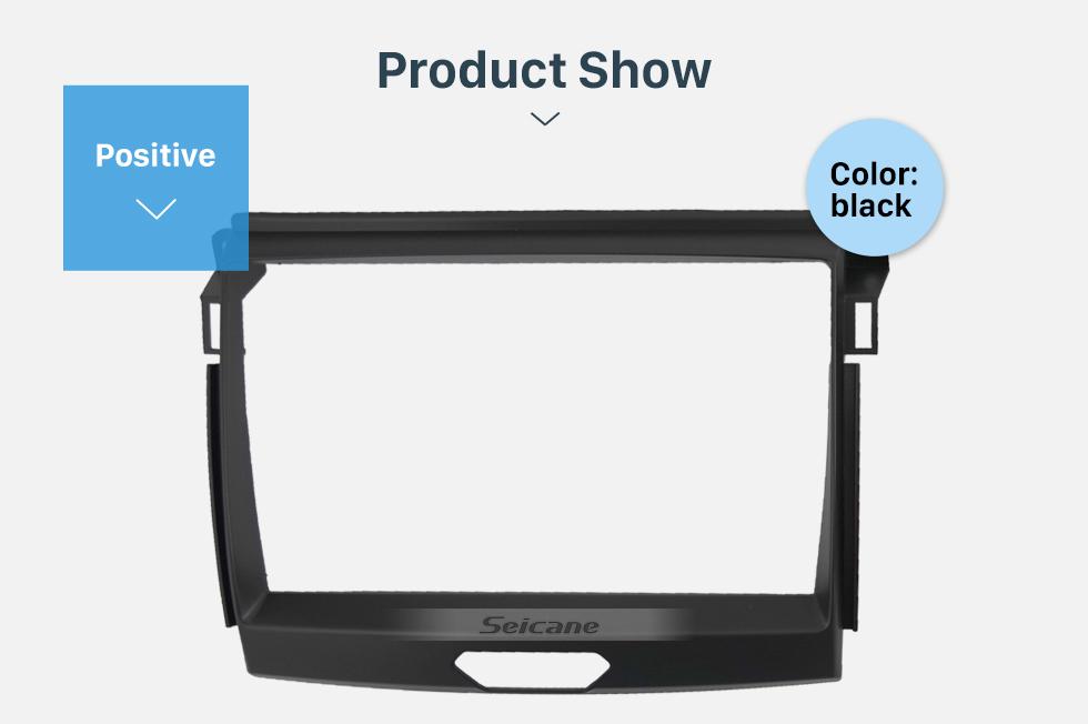 Seicane Car Radio Fascia Panel Install Dash Bezel Trim Mount Kit For 9 inch 2015 FORD RANGER OEM style