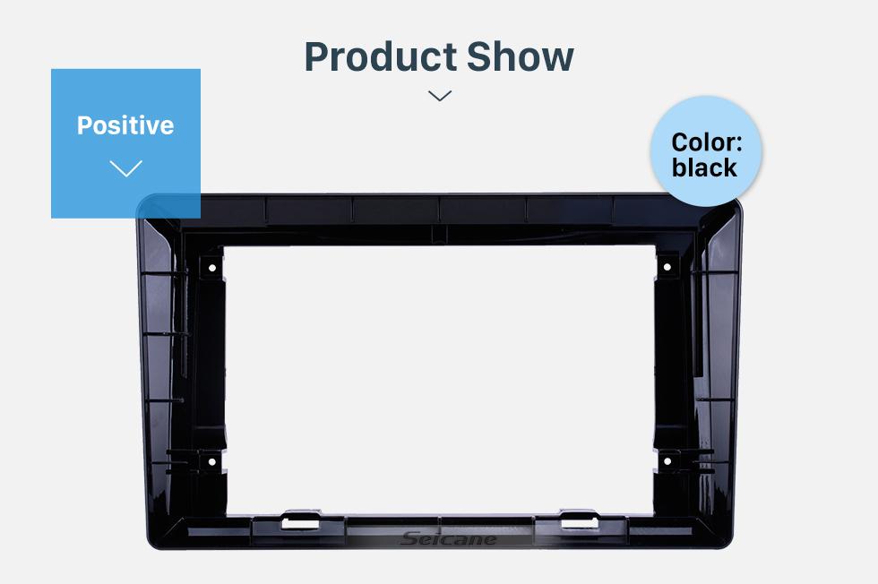 Seicane In Dash Car Radio Fascia Panel Bezel Trim kit Cover Trim For 9 inch 2019 HONDA CRIDER OEM Style