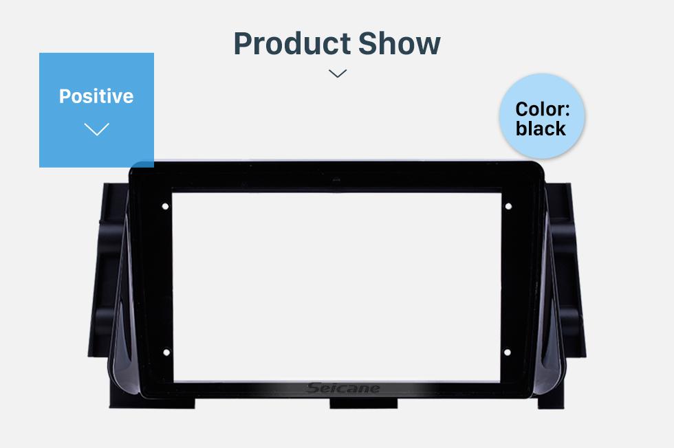 Seicane In Dash Fascia Panel Bezel Trim kit Cover Trim For 9 inch 2017 NISSAN MICRA/ KICKS OEM Style