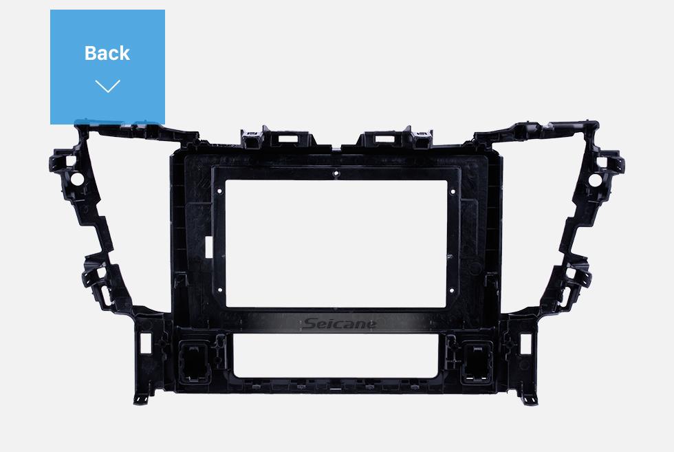 Seicane UV Black Frame for 10.1 inch 2015 TOYOTA ALPHARD Audio Dash Trim Fascia Panel Kit