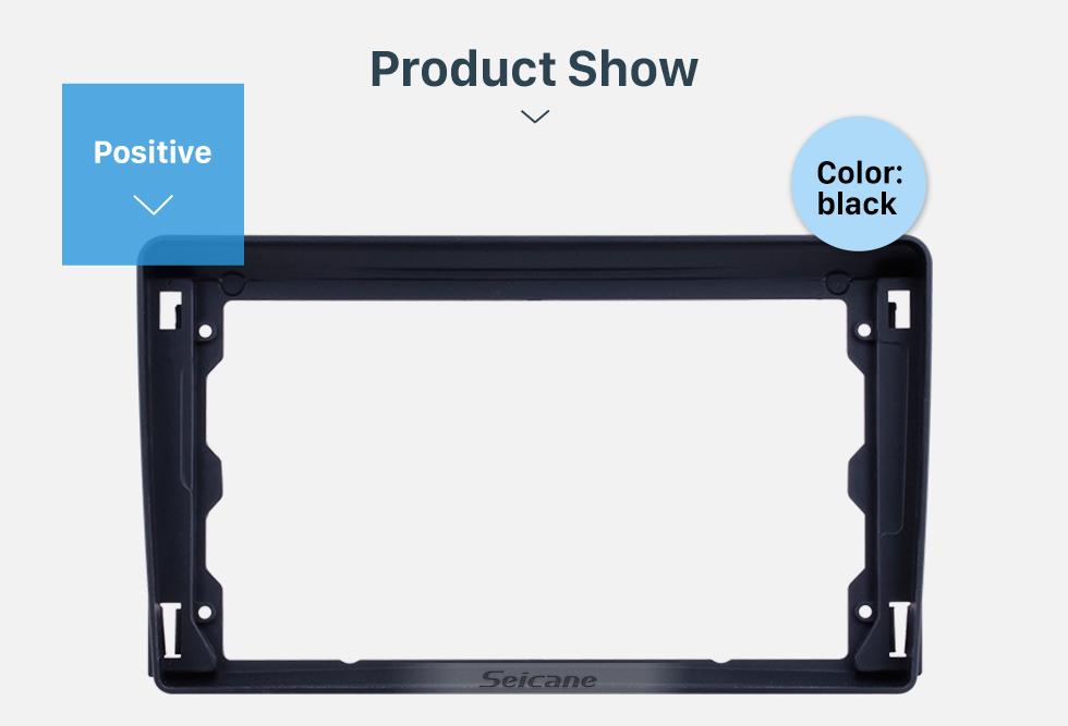 Seicane Black Frame for 9 inch 2005-2008 FORD FOCUS Audio Dash Trim Fascia Panel Kit