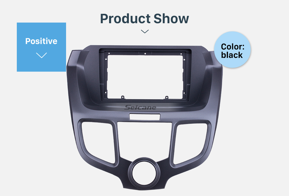 Seicane Black Frame for 2004-2008 Honda Odyssey Audio Dash Trim Fascia Panel Kit