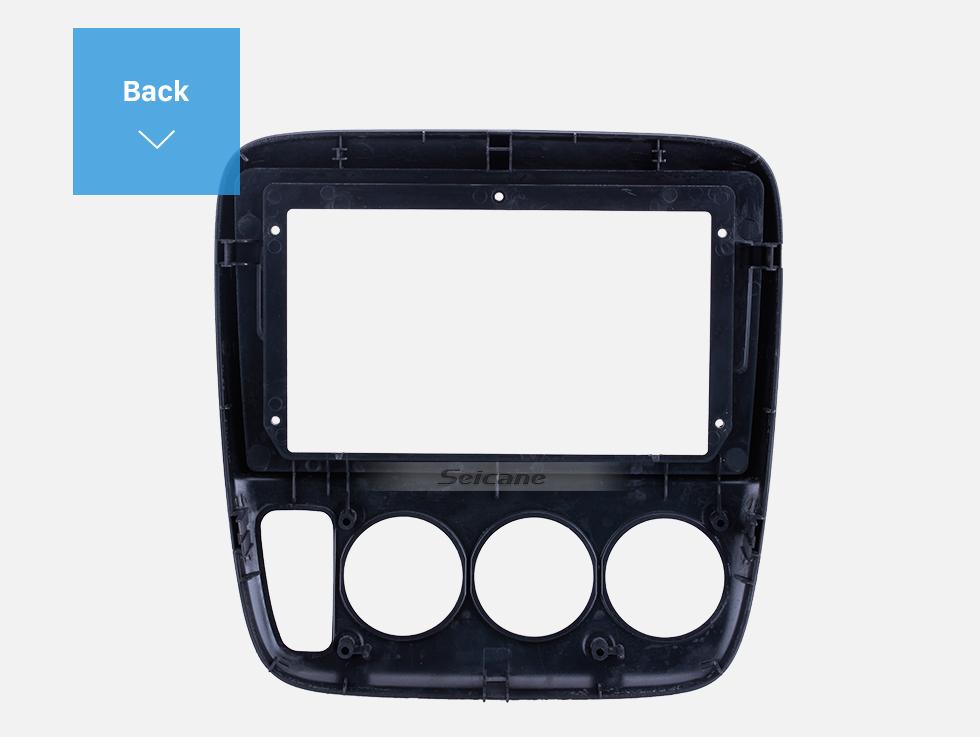 Seicane Double Din 9 inch For 1998 HONDA CRV RHD Black Fascia Frame Dash Mount Kit Trim Panel