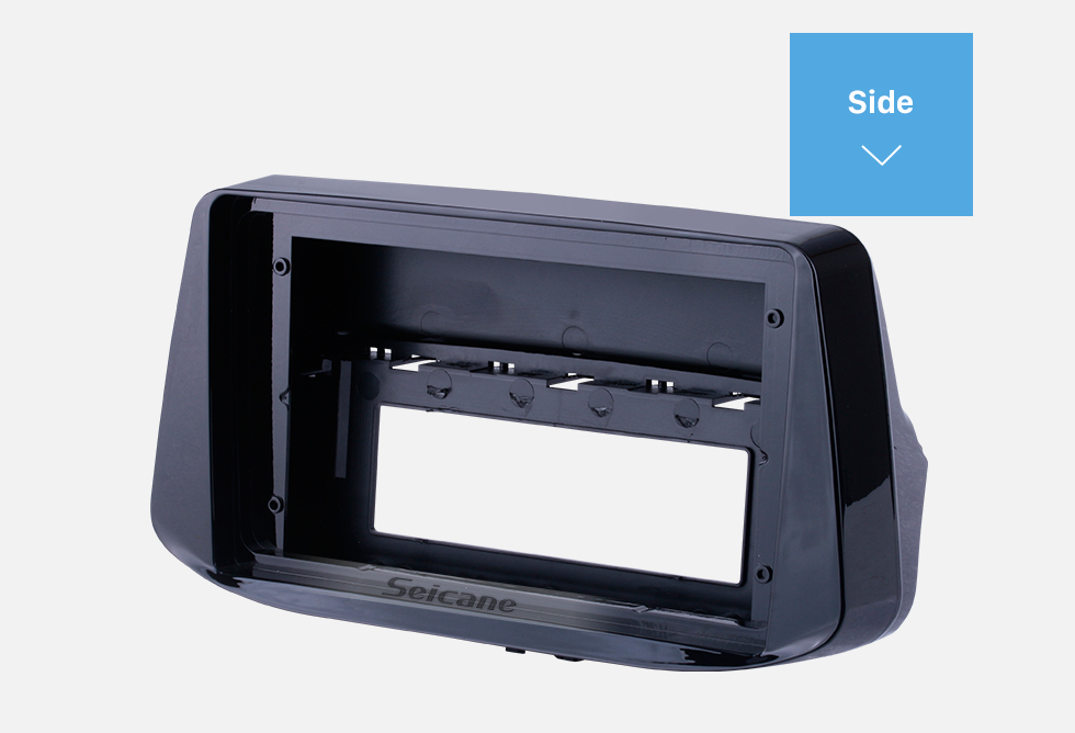 Seicane Black Frame for 9 inch 2018 Hyundai I-30 Audio Dash Trim Fascia Panel Kit