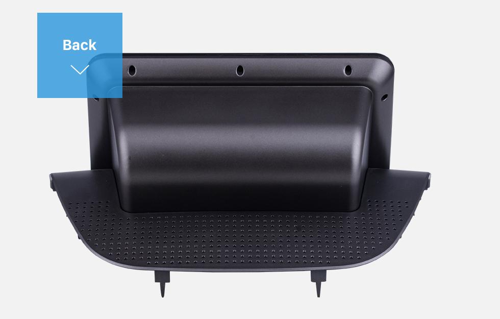 Seicane Double Din pour 9 pouces 2018 Honda Accord Fascia Black Frame Dash Mount Kit Trim Trim Panel