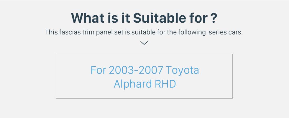 Seicane No Traço Quadro Preto Para 10.1 polegadas 2014 Peugeot 2008 Fascia Painel Moldura Kit de Guarnição Tampa Guarnição Estilo OEM