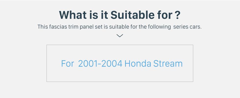 Seicane Din duplo para 9 polegadas 2008 Suzuki Splash Ritz Fascia quadro preto Kit de montagem em painel de guarnição