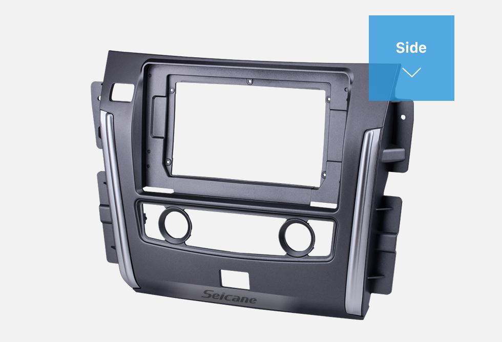 Seicane Fascia UV Black Frame 10.1 pouces pour 2017-2018 Buick GL8 Dash Mount Kit Trim Panel No gap