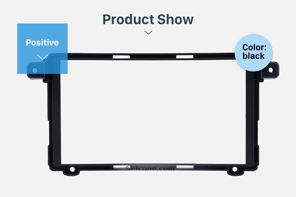 Product Show Superior Double Din 2017+ HYUNDAI I-10 Car Radio Fascia Surround Panel Stereo Frame Install CD Trim