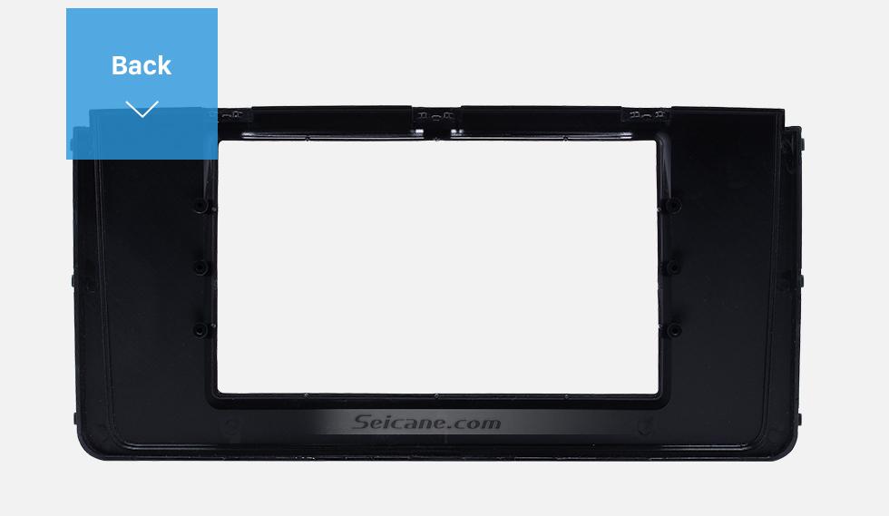 Seicane Fascinating Double Din 2016 HYUNDAI H350 Car Radio Fascia DVD Gps Decorative Frame Dash Kit Stereo Install