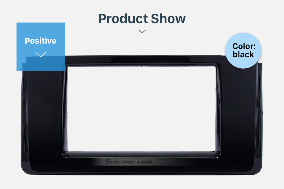 Product Show Fascinating Double Din 2016 HYUNDAI H350 Car Radio Fascia DVD Gps Decorative Frame Dash Kit Stereo Install