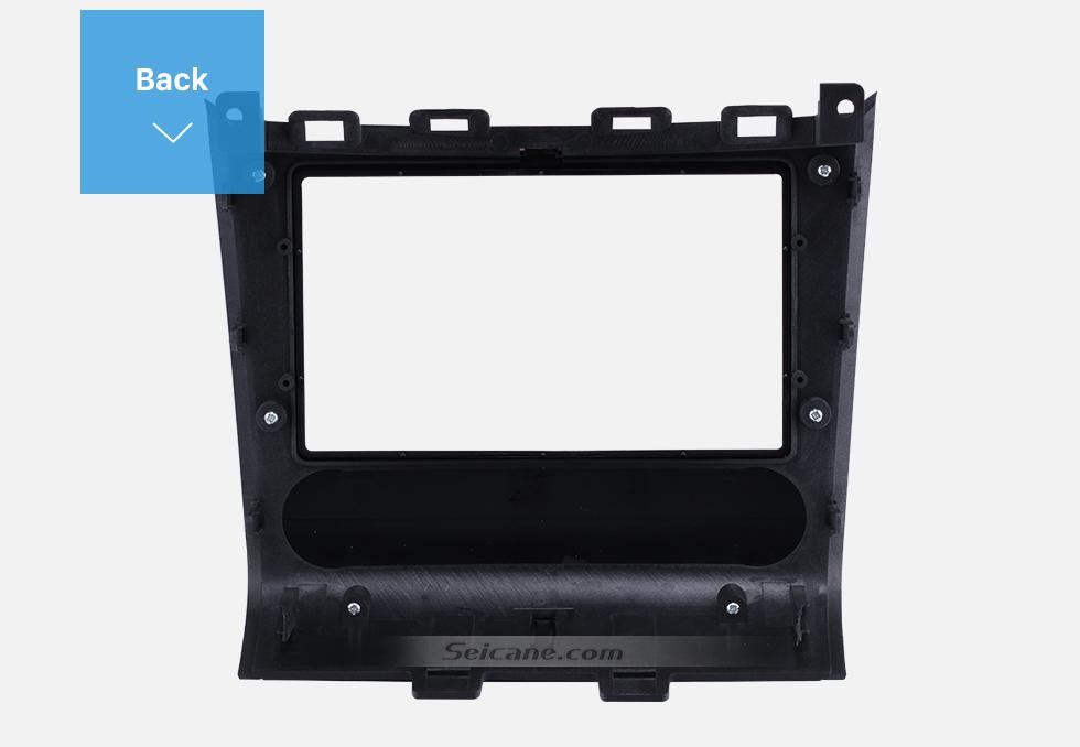 Back Double Din Car Radio Frame Plastic Fascia Dash Panel for 2013+ NISSAN PATHFINDER Install Dash Bezel Cover Trim Kit No gap
