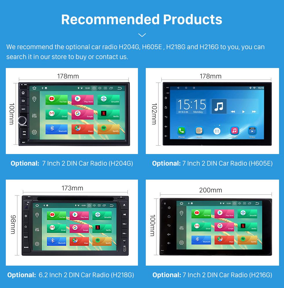 Options Suggestion Double Din Car Radio Frame Plastic Fascia Dash Panel for 2013+ NISSAN PATHFINDER Install Dash Bezel Cover Trim Kit No gap