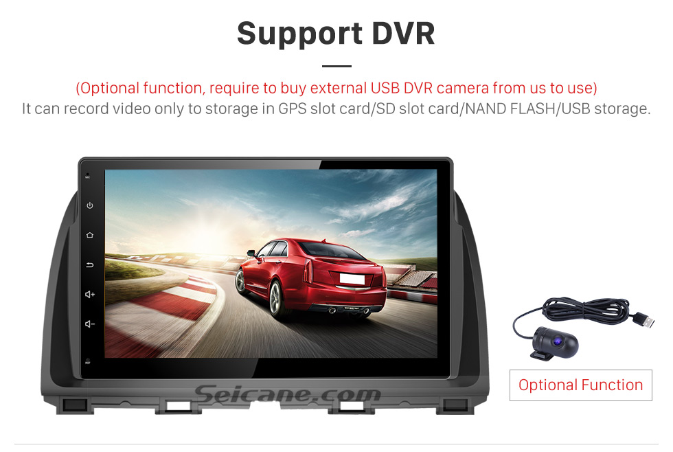 Support DVR 10.1 inch 2016 Peugeot 308 Android 6.0 Radio GPS Navigation system Support Canbus Bluetooth Music USB 1080P Video 3G WIFI OBD2 Mirror Link Rearview