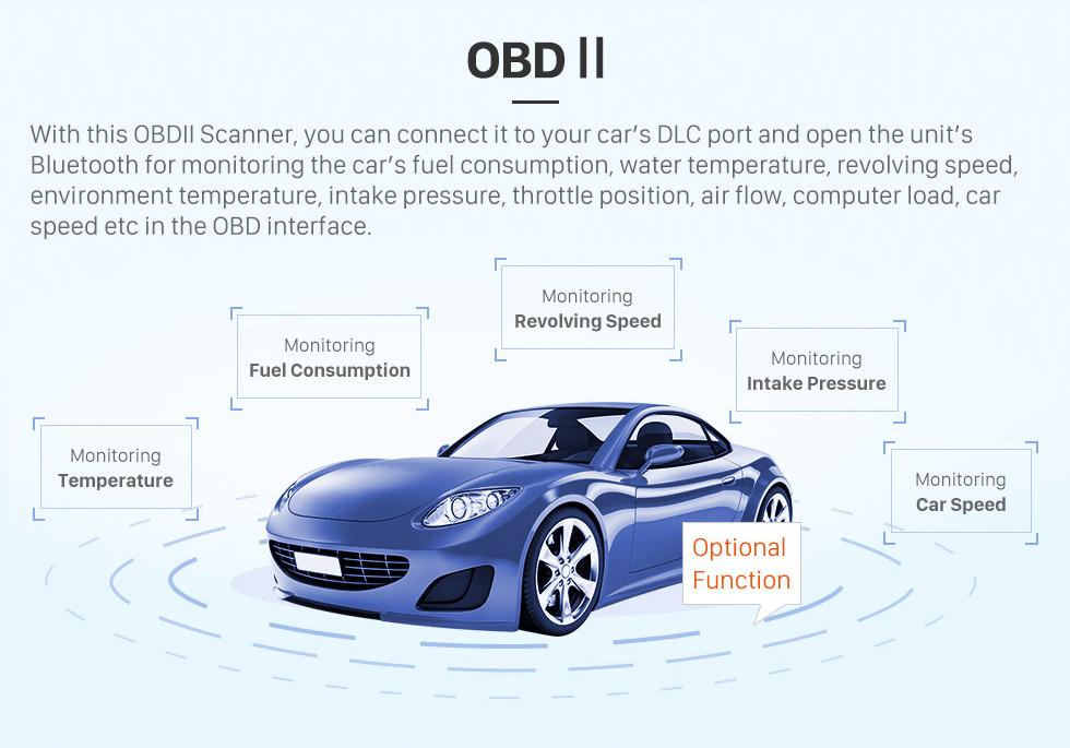 Seicane OEM 10,25 Zoll für 2012 2013 2014 LEXUS ES Android 8.0 Radio Bluetooth HD Touchscreen GPS-Navigationsunterstützung Carplay DAB + TPMS
