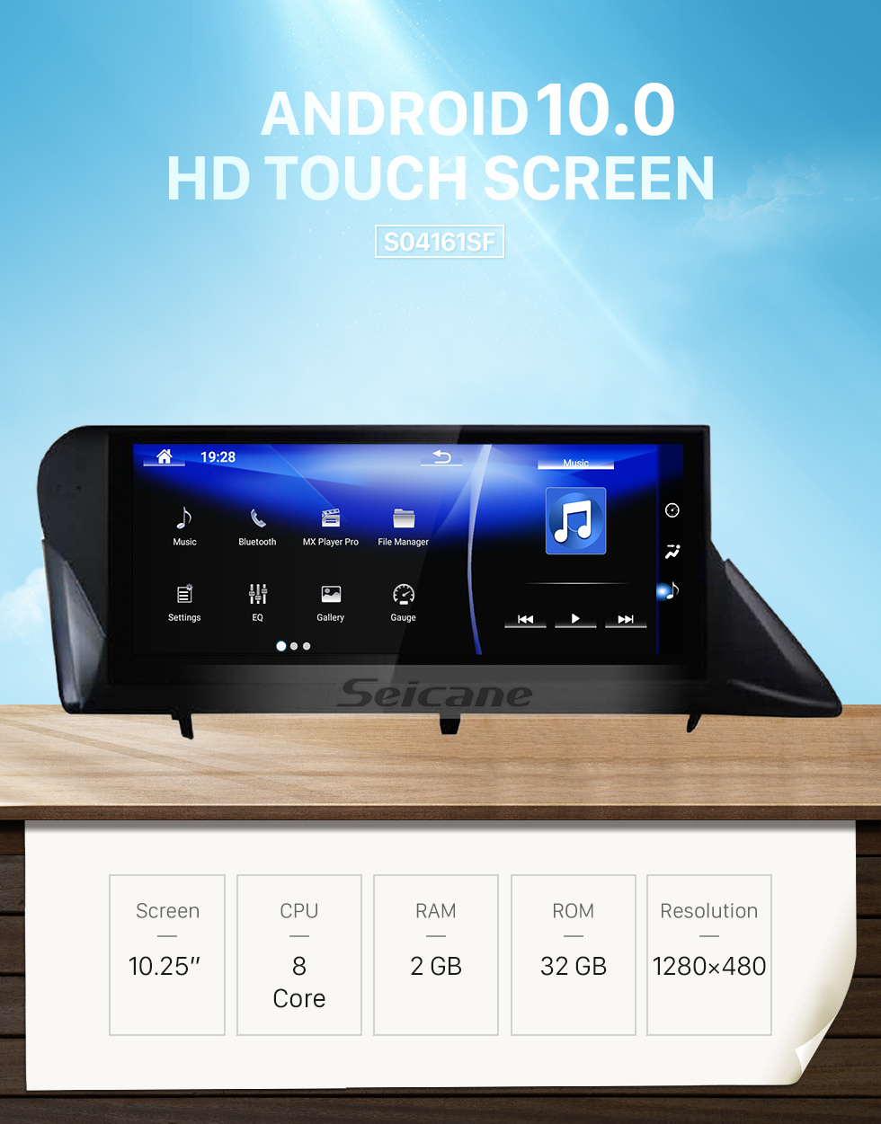 Seicane OEM 10.25 inch for 2009 2010 2011 2012 2013 2014 LEXUS RX Radio Android 7.1 Bluetooth HD Touchscreen GPS Navigation support Carplay TPMS