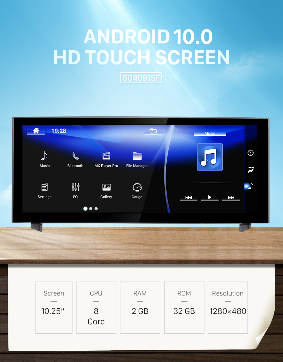 Seicane Android 7.1 for 2013 2014 2015 2016 2017 2018 2019 LEXUS IS 10.25 inch HD Touchscreen GPS Navigation Radio with Bluetooth support Carplay DVR OBD2
