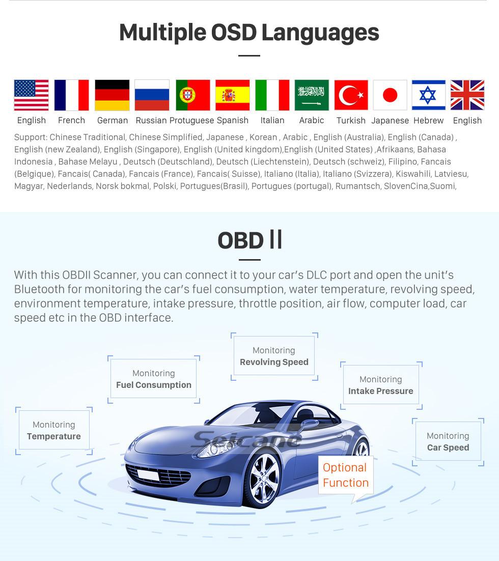 Seicane 10,25 polegadas para 2011 2012 2013 2014 2015 2016 2017 2018 2019 Lexus CT200 RHD Versão Superior Rádio GPS Sistema de Navegação Android 7.1 Com HD Touchscreen Suporte Bluetooth Carplay