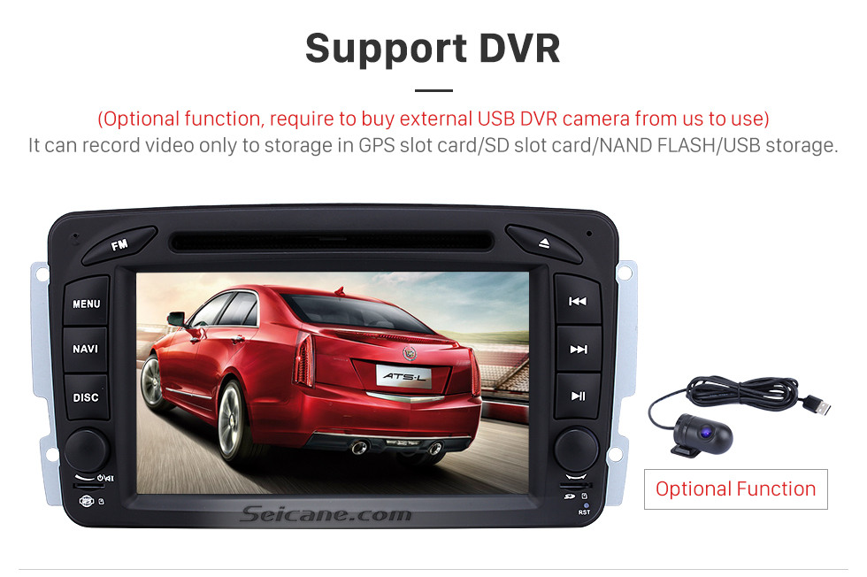 Seicane Android 9.0 Radio DVD Player Car GPS Navigation for 1998-2006 Mercedes Benz G Class W463 G550 G500 G400 with Bluetooth Music Mirror Link USB WIFI 1080P Video Aux DVR
